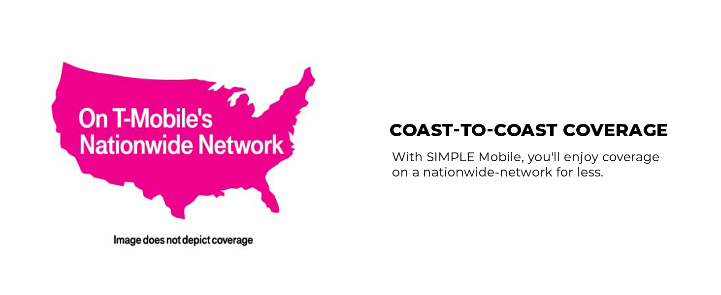 Simple Mobile nationwide coverage