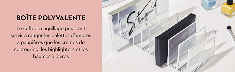 signature series sarah tanno idesign interdesign rangement organisateur maquillage cosmétique