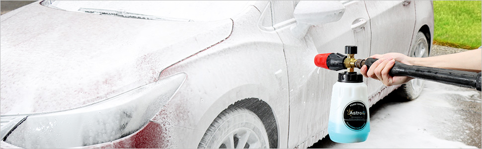foam cannon car washing
