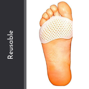 silicone Gel Half Toe Sleeve Anti-Skid Forefoot Smooth and soft Pads