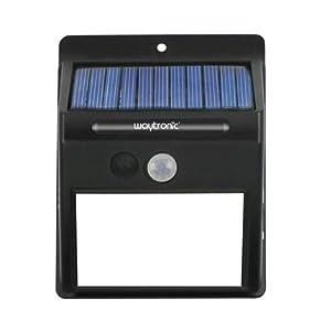 Outdoor solar motion sensor voice prompter light