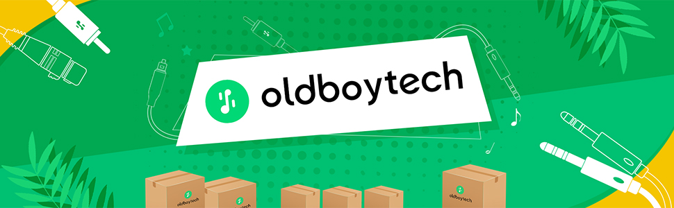 Thank you for browsing oldboytech's products, we provide you with better quality audio cables