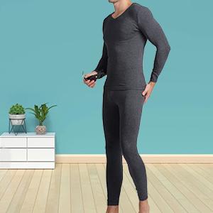 Mucwer dark gray thermal underwear