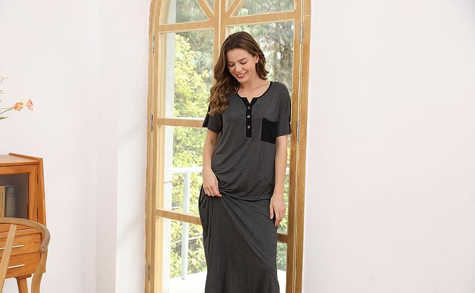 ASIMOON Women's Nightgowns