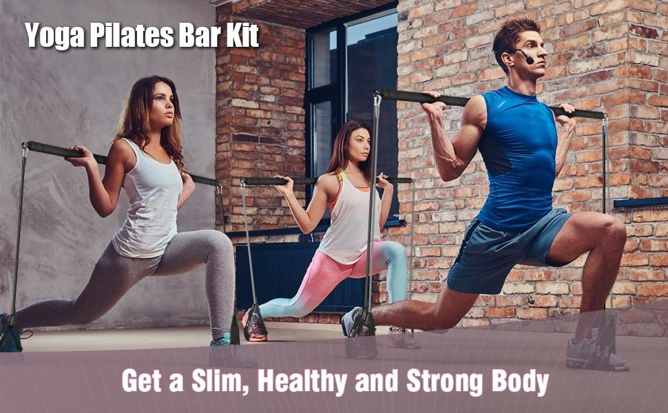 resistance bar squat bar with weights resistance band bar attachment pilates bands