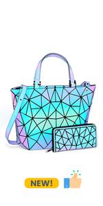 luminous handbag