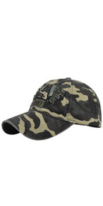 USAF Embroidery Baseball Cap Distressed Trucker Hat
