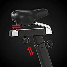 Exercise Bike with Adjustable Seat