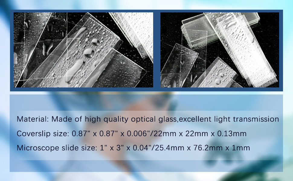 Made of high quality optical glass,excellent light transmission