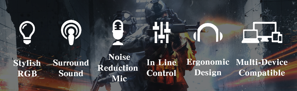Noise-Canceling Gaming Headset