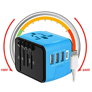 Dual USB Charger Travel Adapter