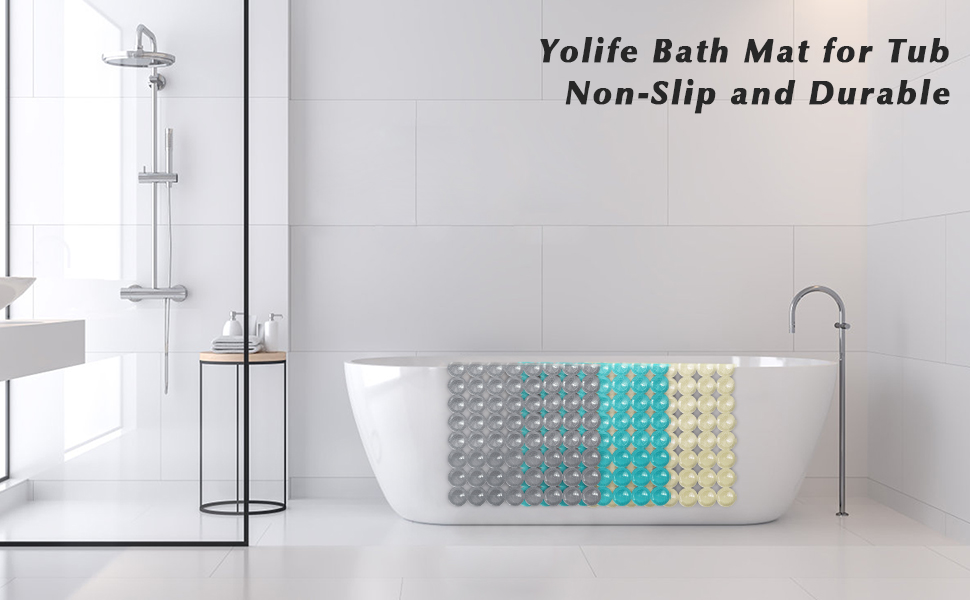 tub mats for textured surface