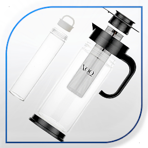 XOQute cold brew maker XOQ EASY TO DISASSEMBLE