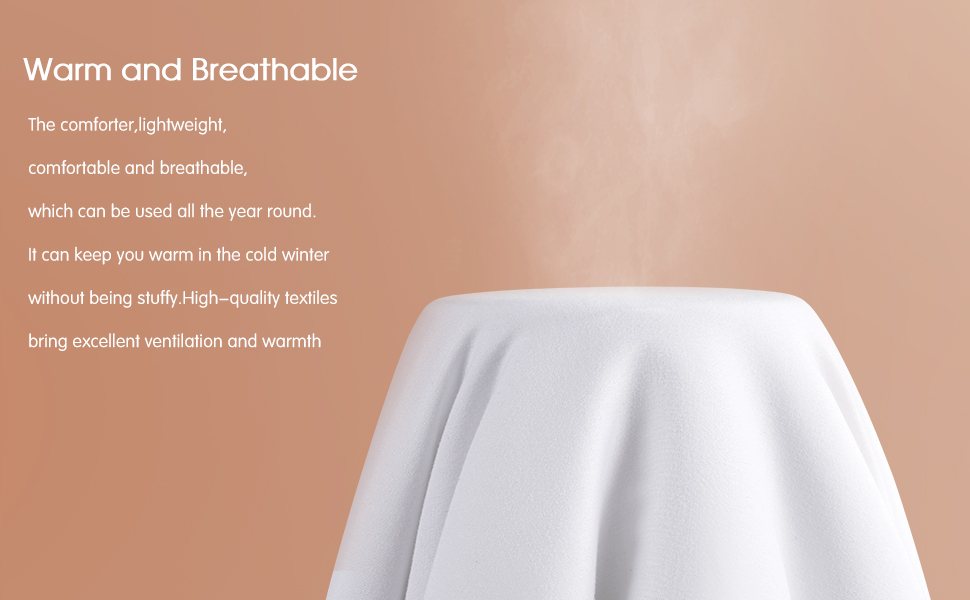 Warm amd Breathable