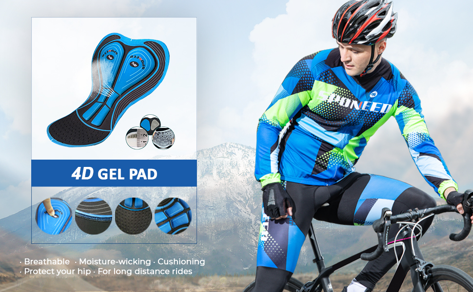 clothing for cycling