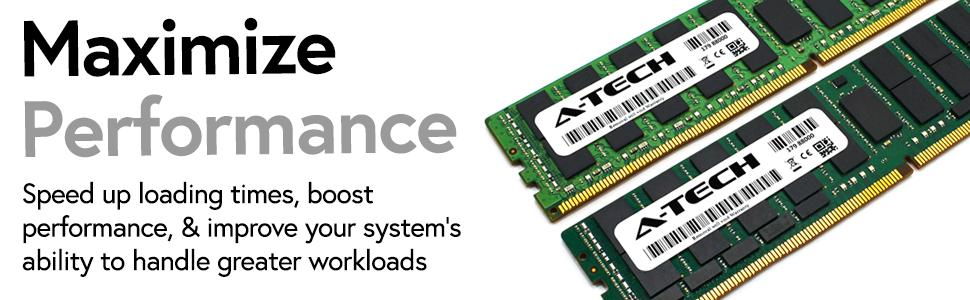 Maximize Performance DDR4 ECC RDIMM LRDIMM