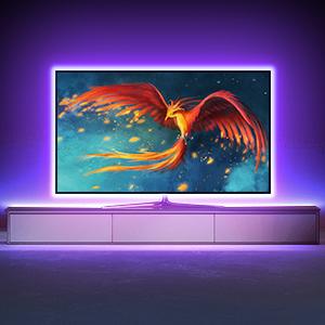TV Beleuchtung für Flachbildschirm