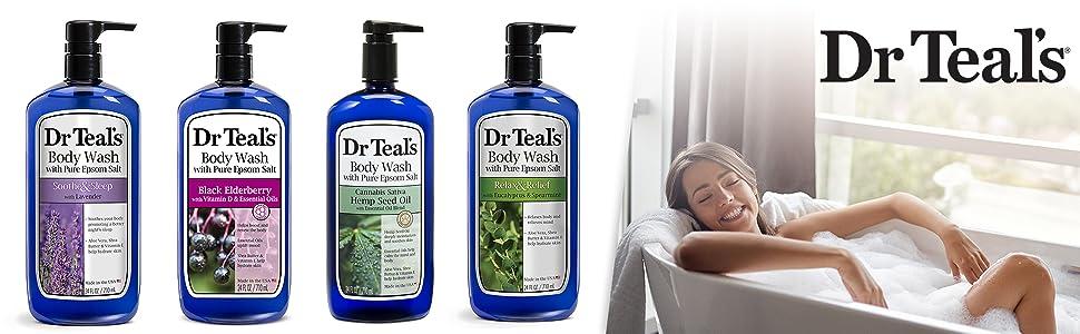 Dr Teal's Body Wash Banner