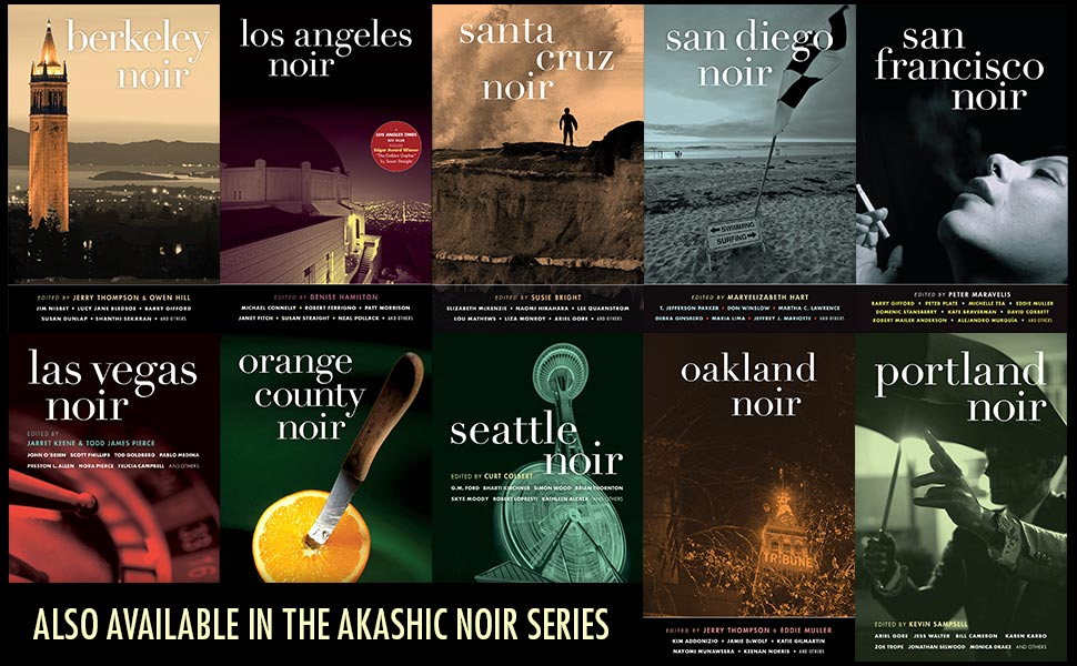 cover images from the akashic noir series