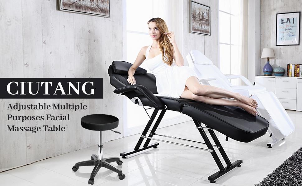 CIUTANG Adjustable Facial Massage Table