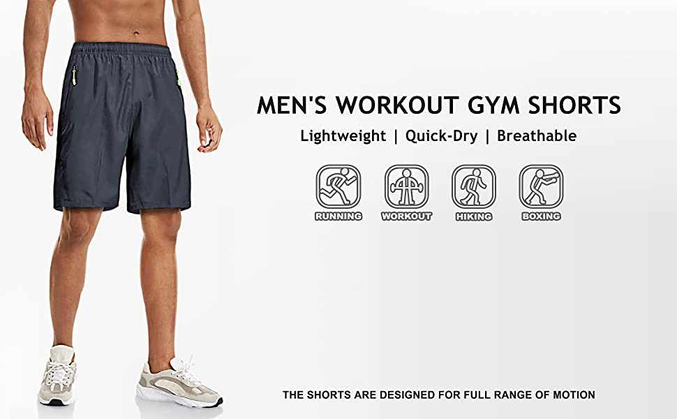 Men's Workout Gym Shorts