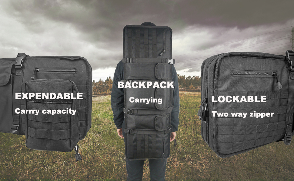 Backpack Rifle Case