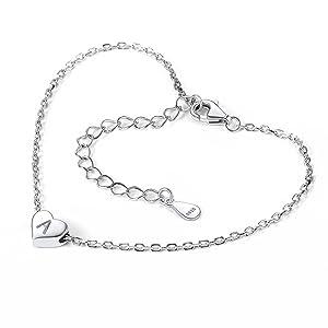 initials bracelet for women