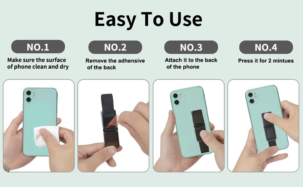 Multifuncational Phone Kickstand, Free Your Hands, Bring You Great Using Experience.