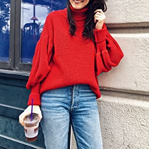 fall clothes winter clothing mock neck sweater women plus size sweater pullover