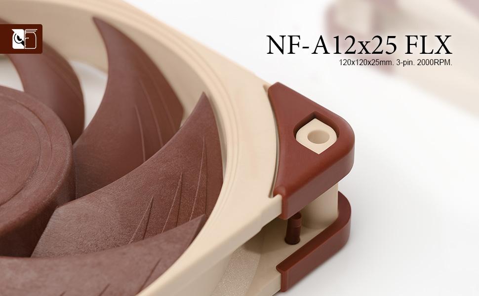 NF-A12x25 FLX header