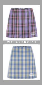plaid skirt