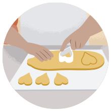 sharp cookie cutter