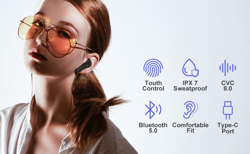 S18 wireless earbuds