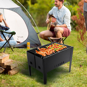 portable barbecue grill set camping