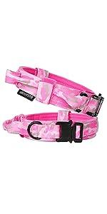 Tactical Dog Collar Pink