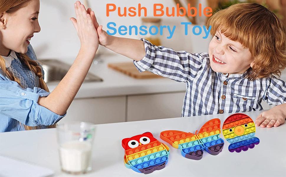 push bubble sensory toy