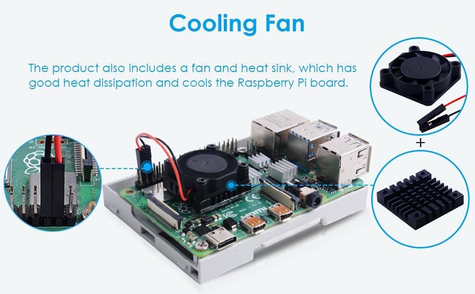 raspberry pi 4 fan