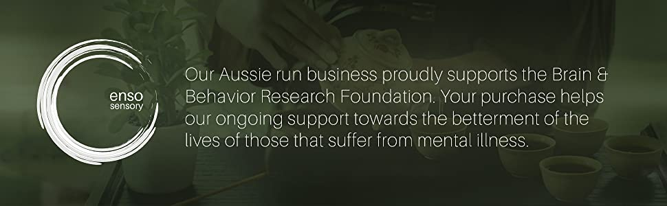 Our Aussie run business proudly supports the Brain and Behavior Research Foundation