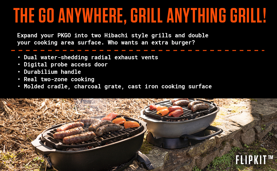 The GO Anywhere, Grill Anything Grill!