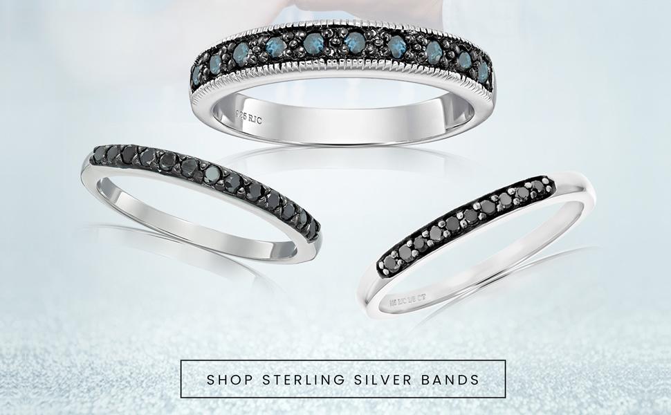 Vir Jewels - Shop Wedding Bands in Sterling Silver