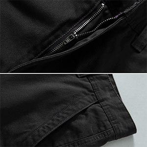 front pockets