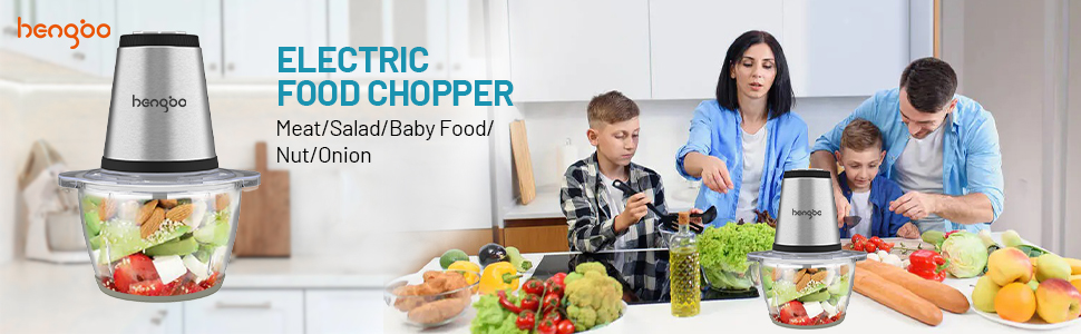 Electric Food Chopper