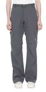 Coversible zip off hiking pants