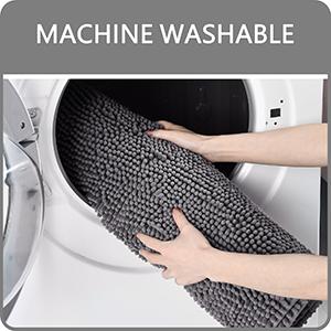 bath mat washable
