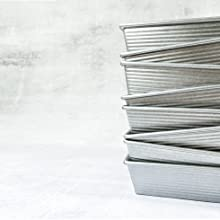 USA Pan Loaf Pans - stacked up