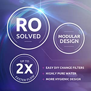 Modular filter design, home master, easy, DIY, traditional, RO, cartridge