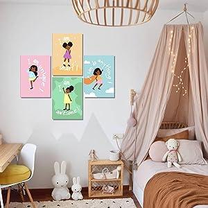 Black Girl's Bedroom Decor