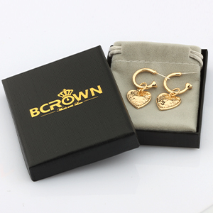 drop earrings with gift box