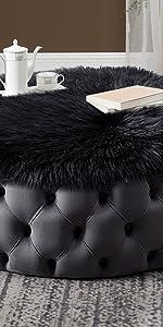 Faux Fur Sheepskin Chair Pads