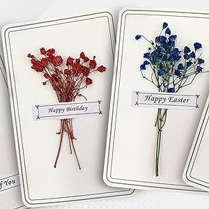 Happy Birthday flower greeting cards